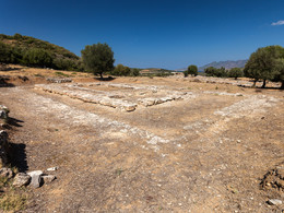 Der Hippolytos-Tempel in Troizen (c) Tobias Schorr