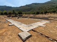 """Das antike Asklepios-Heiligtum war eine Art """"Krankenhaus"""" und Heiligtum."""