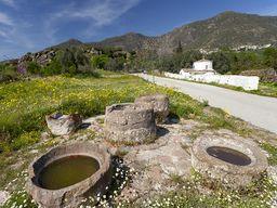 Antike Tränken beim Paliokastro von Vathy