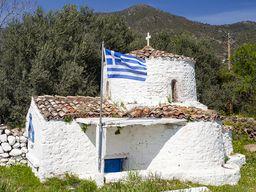 Die Kapelle Agios Nikolaos in Vathy