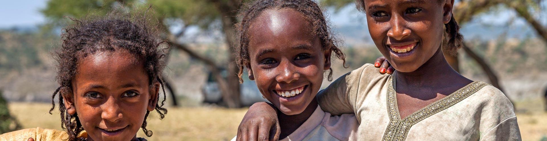 Κορίτσια από την Αιθιοπία