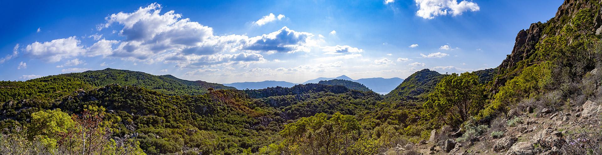 Methana Landschaft