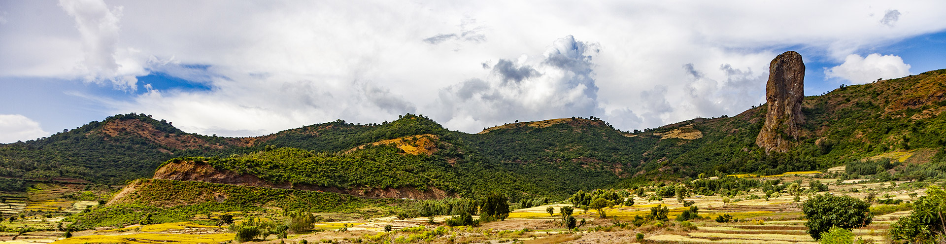 Landschaft um Gonder