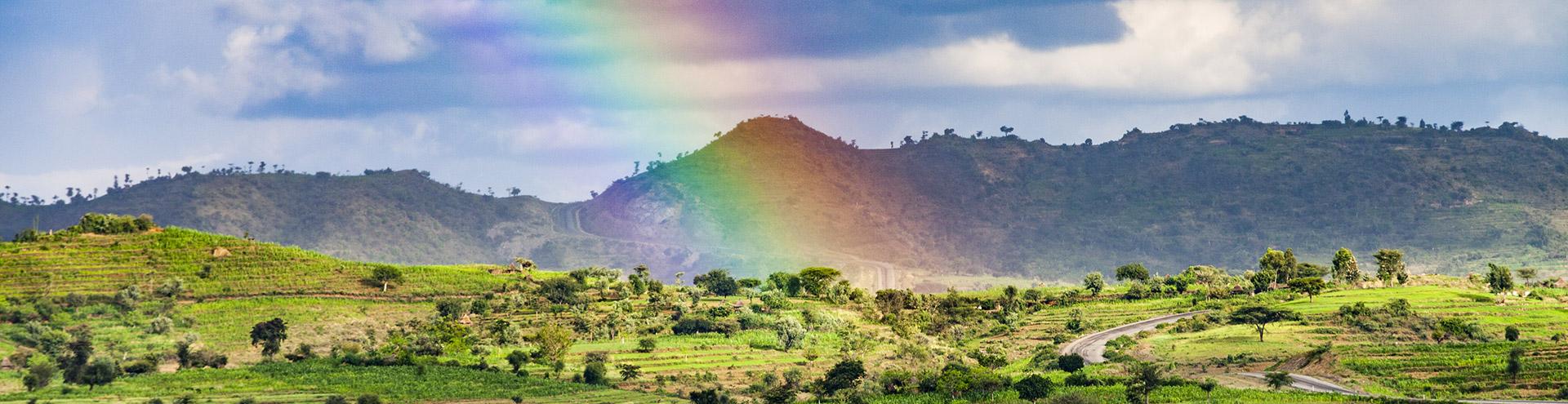 Die Landschaft um Konso in Süd-Äthiopien (c) Tobias Schorr