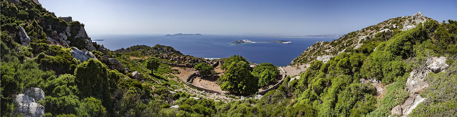 Der hängende Garten des Diavatis auf der Insel Nisyros
