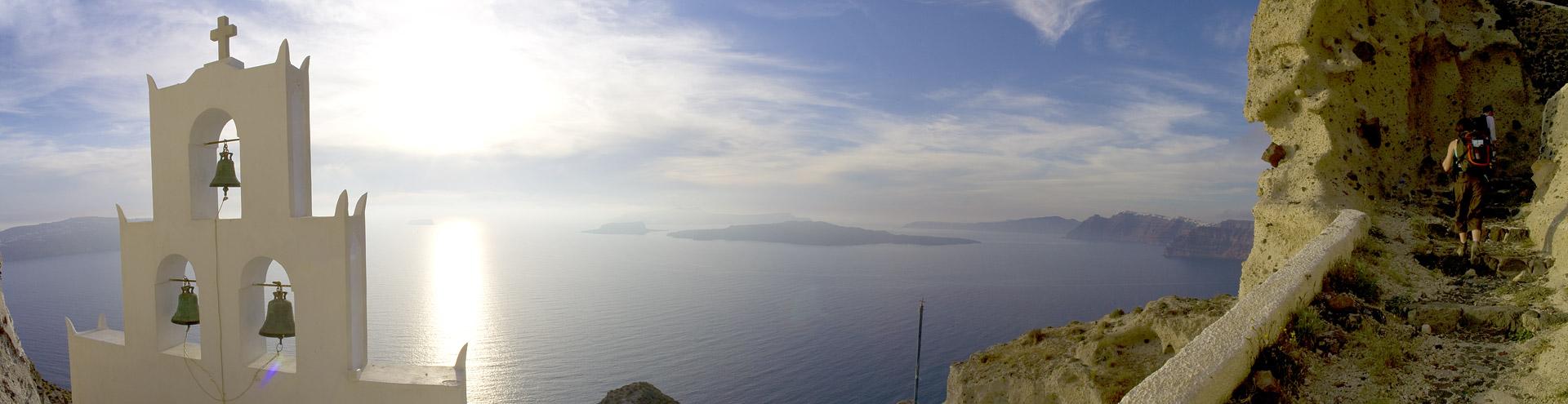 Aussicht Plaka-Bucht