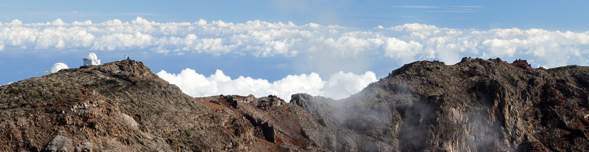 The caldera Tamburiente on La Palma island