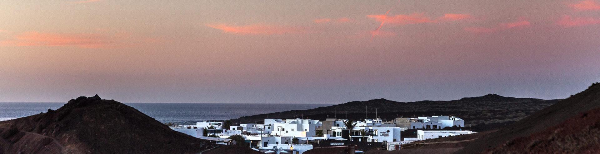 Abendstimmung El Golfo / Lanzarote