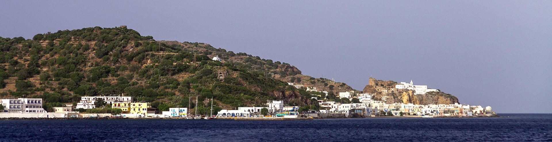 Unser Hotel auf der Insel Nisyros