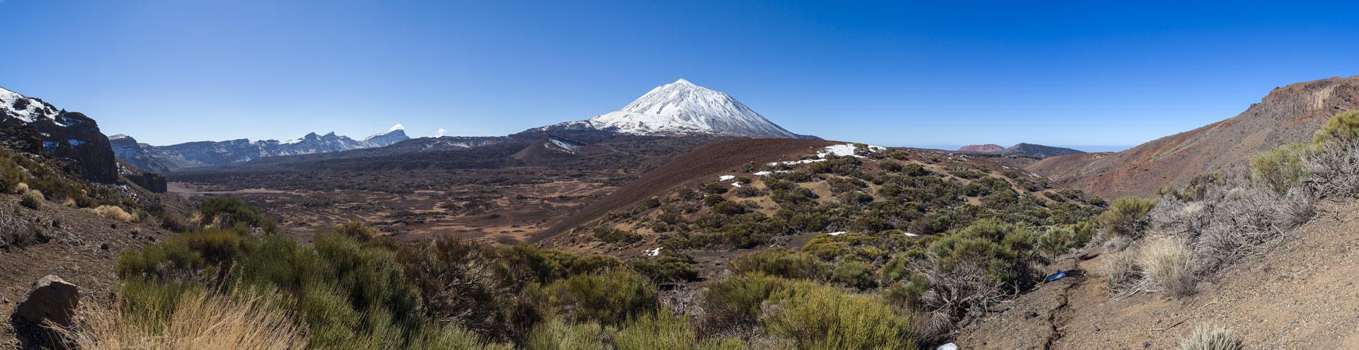 Die Kaldera des Teide-Vulkans auf Teneriffa