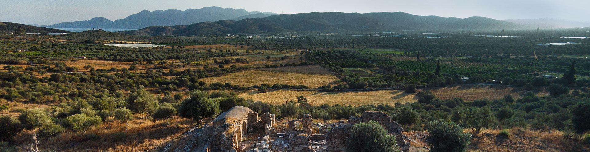 The ancient site of Troezen